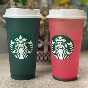 🌈3/$20 Limited Edition STARBUCKS Color Change Cup